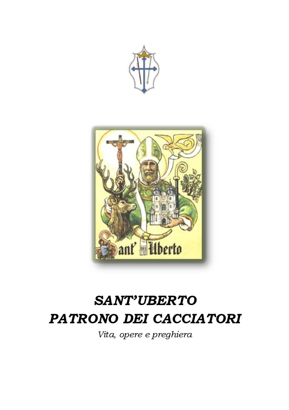 Vita di San Uberto, pagina 1