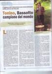 Tonino, Campione del Mondo