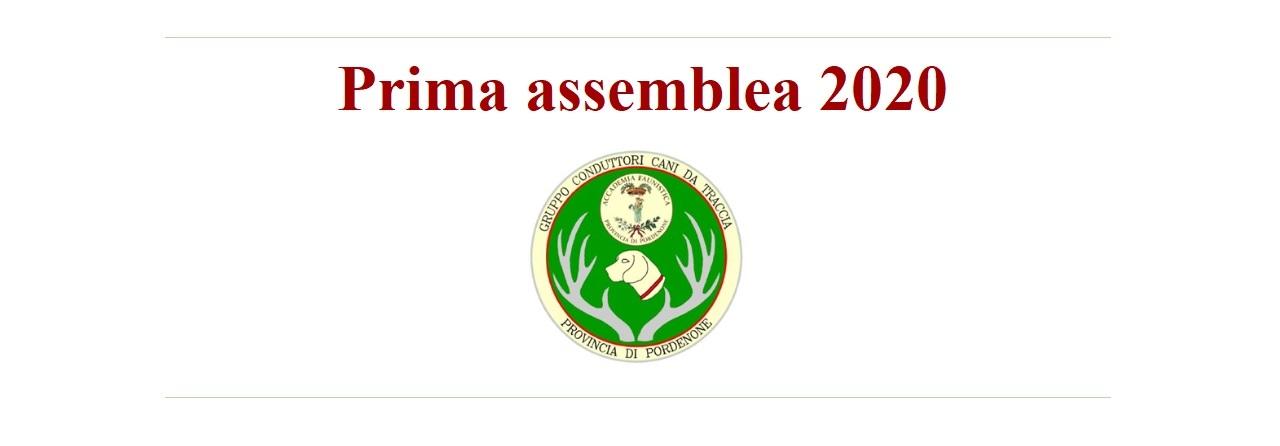 Prima Assemblea 2020
